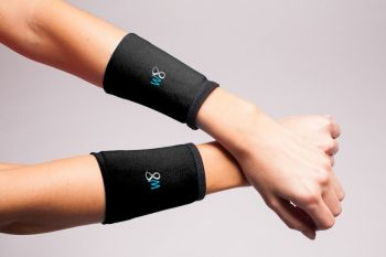 1/2 lb Wrist Weights Cuffs - Black