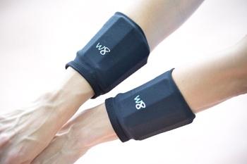 1 lb Wrist Cuffs - Black
