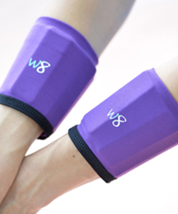 1 lb Wrist Cuffs - Purple