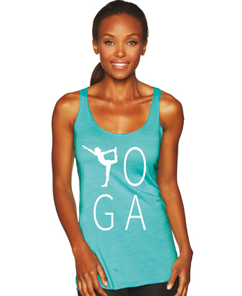 Yoga Letters Y Pose Tank